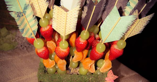 Quot Elven Arrows Quot Fruit Skewers For An Enchanted Forest