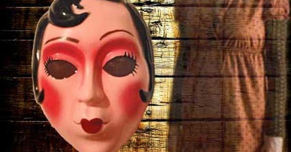 the strangers pinup girl mask hollaween pinterest