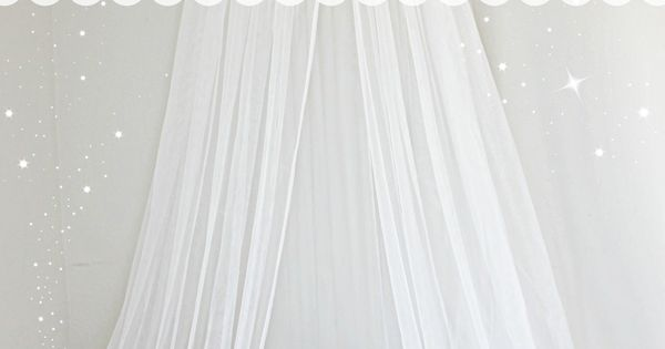 Easy DIY bed Canopy. Perfect for any little princess! *Also check out