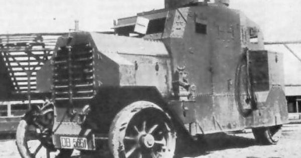 Erhardt Freikorps Armored Car In 1918 Auto Pinterest