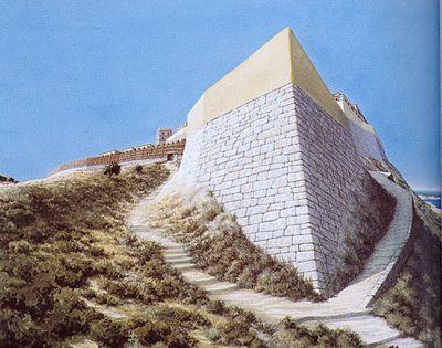 Rhodes East Troy : troy vi north east bastion reconstruction copyright by christoph haussner munich troja vi ~ Russianpoet.info Haus und Dekorationen