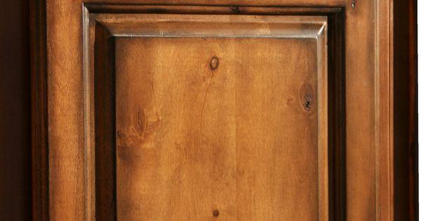 Pecan Maple Glaze Kitchen Cabinets Rustic Finish Sample