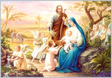 Holy Family Desktop Nexus Wallpapers Jesus Mary Pictures