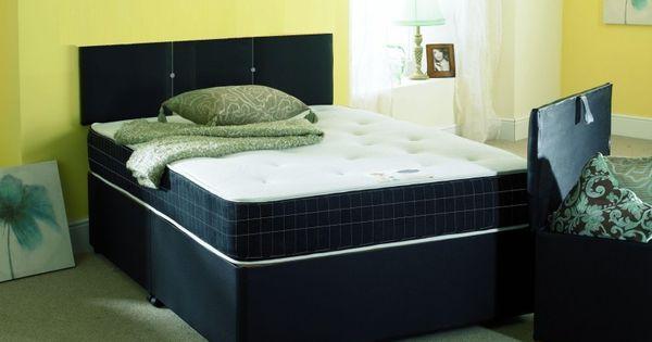 Dream vendor cumbria memory foam king size divan bed for King size divan bed with memory foam mattress