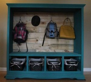 Upcycle Entertainment Center Entertainment Center Makeover