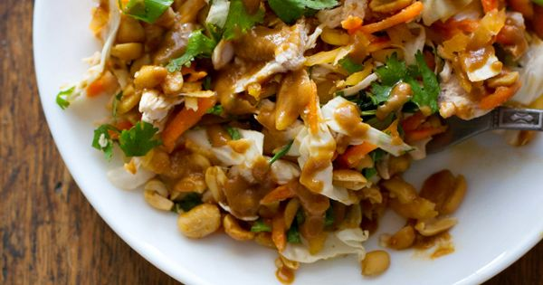 Healthy & Nutritious Thai Salad Recipes -Chopped Thai Chicken Salad