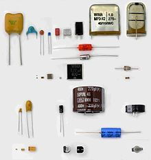 Electronic Component Capacitors Electronics Components Electronic Components