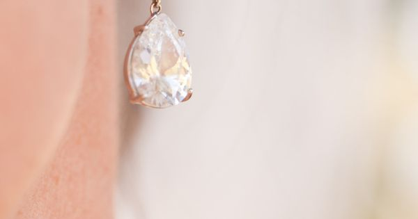 Perfect wedding earrings