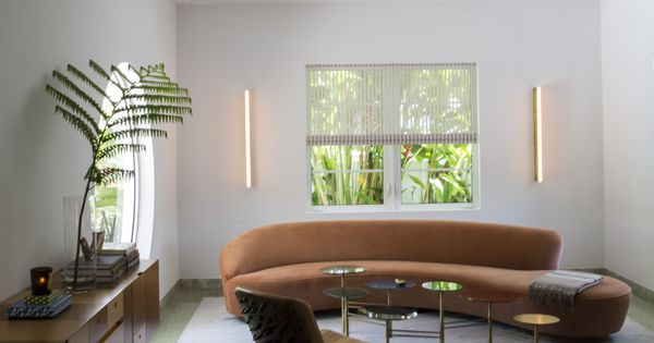 art deco furniture miami. Furniture For Daily Life: Living Room With Vladimir Kagan Sofa In Miami Art Deco Villa Remodel By Stephan Weishaupt, Owner Of Avenue Road,
