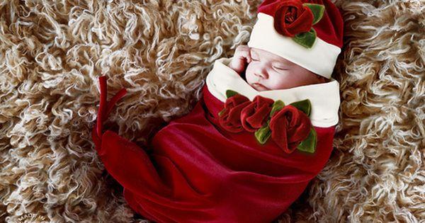 christmas baby photo shoot idea 2