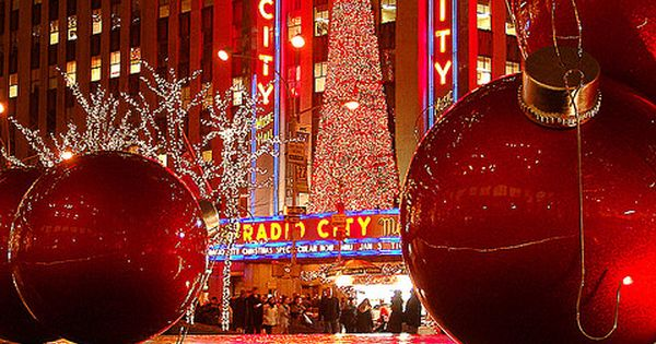 Radio City, NY at Christmas time