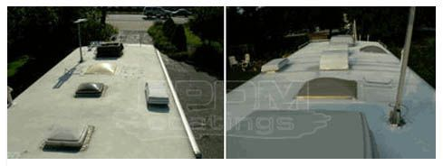 It Offers Much Better Uv Resistance Water Resistance And Heat Resistance Than Any Other Rubber Or Solution Its Adhes Roof Coating Roof Repair Rv Roof Repair