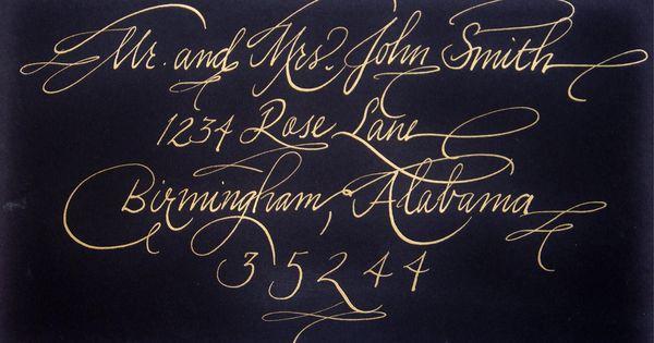 Fancy June Metallic Gold Ink On Black Calligraphy Pen