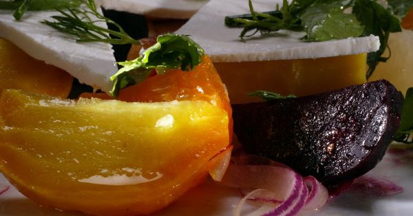 ... and ricotta salata | Recipe | Beet Salad, Roasted Beets and Fennel