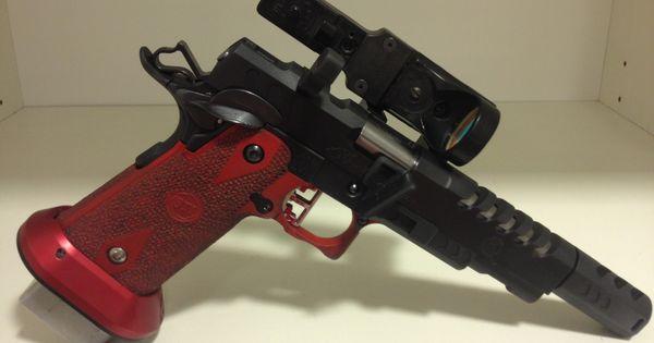 Sti Open Gun 9mm Mayor Quot La Brama Custom Guns Quot Ipsc