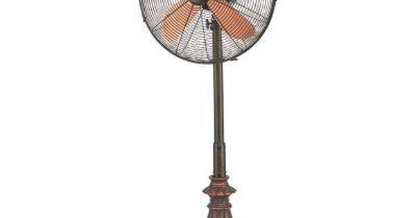 Deco Breeze Adjustable Height Floor Fan Kipling Dbf6127 Floor Fan Oscillating Fans Pedestal Fan
