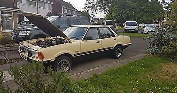 Ebay Ford Cortina Mk5 Xr6 1982 Classic Cars Ford Cool Cars