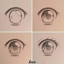 Image Result For Easy Anime Eyes Anime Drawings Sketches Anime Eye Drawing Eye Drawing