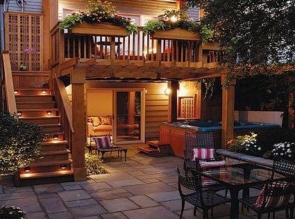 Best Second Floor Deck With Stairs Backyard Pinterest Decking 640 x 480