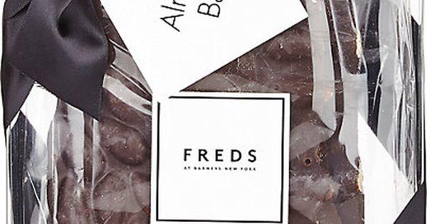 Freds of New York Almond dark chocolate bark.