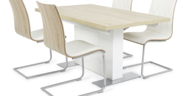 Vieux extending dining table in white and 4 white vieux  : a3d1f4fb5845bfb084096ca23369c2e1 from www.pinterest.com size 600 x 315 jpeg 15kB