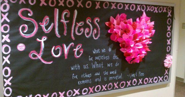 Reslife Self Care Bulletin Board Inspiration