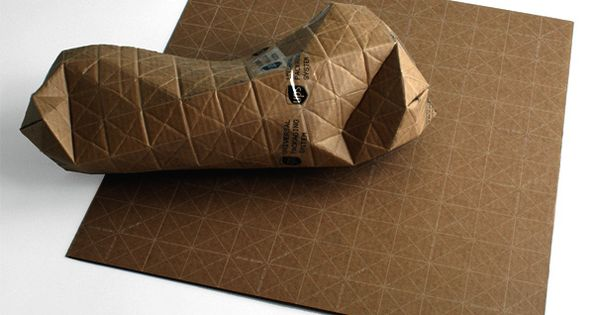 Ingenious Cardboard Packaging Folds to Fit Parcels of Any Shape | A
