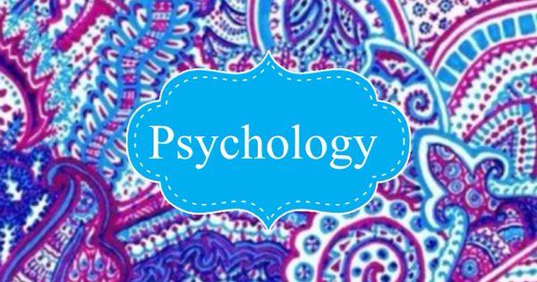 psychology binder cover