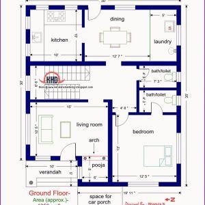 1000 Sq Ft House Plan Indian Design
