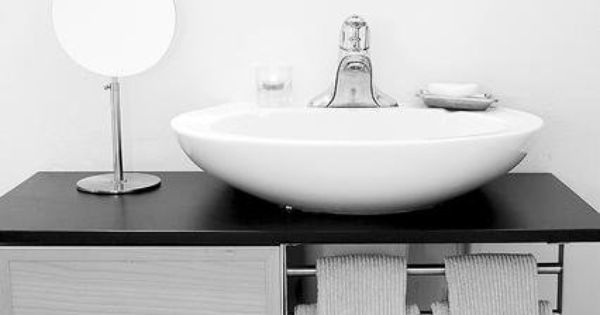 Mueble bajo lavabo con pedestal 5 lavabo pinterest for Mueble lavabo pedestal