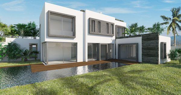 Réalisation en 3D du0027une villa pour des particuliers #Adizee