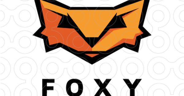 Exclusive Customizable Logo For Sale Foxy Games Stocklogos Com Animal Fox Smart Mascot Sports Gam Sports Design Inspiration Animal Logo Pets For Sale