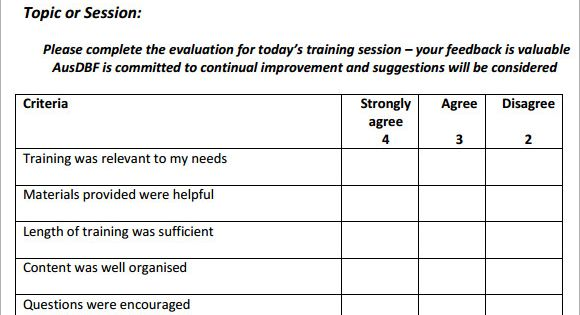 Image result for evaluation forms for training desk top Pinterest - examples of feedback forms