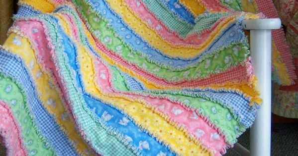 Rag Quilt Ideas Pinterest : How to Make A Rag Quilt ? How To Make A Quilt! Quilting Pinterest See best ideas about ...