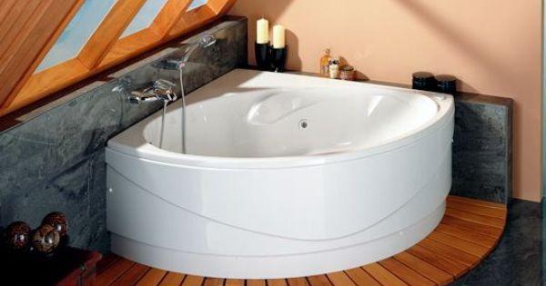 au coin la baignoire la nouvelle vague des petites baignoires c t baignoire d. Black Bedroom Furniture Sets. Home Design Ideas