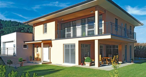 Fertigteilhaus modern  VARIO-HAUS New Design IV #gibtdemLebeneinZuhause, Einfamilienhaus ...