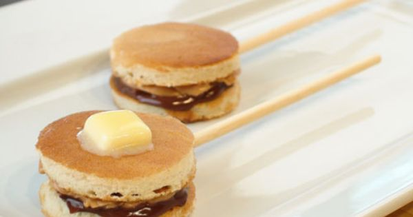 Peanut Butter Pancake Pops? What an idea!
