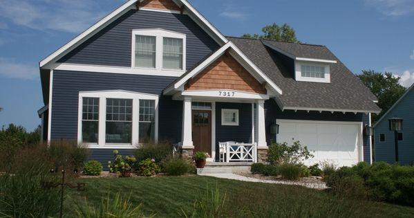 Exterior ranch home colors - Cedar Panel Siding House Exterior Craftsman Google