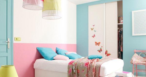 peinture chambre enfant leroy merlin chambre enfant deco diy pinterest peinture chambre. Black Bedroom Furniture Sets. Home Design Ideas