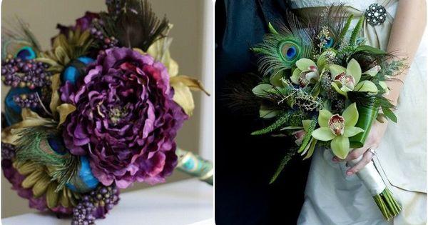 Peacock Color Palette : Floral