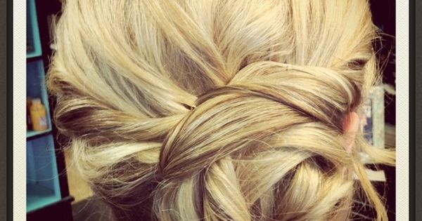 braided side bun =perfect wedding hair