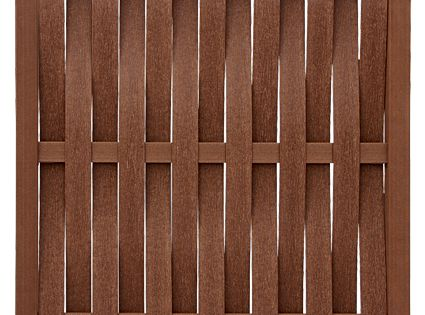 Vertical Basket Weave Panel Fence Privacy Walls