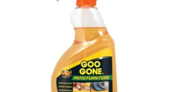 Goo Gone 24 Oz Patio Furniture