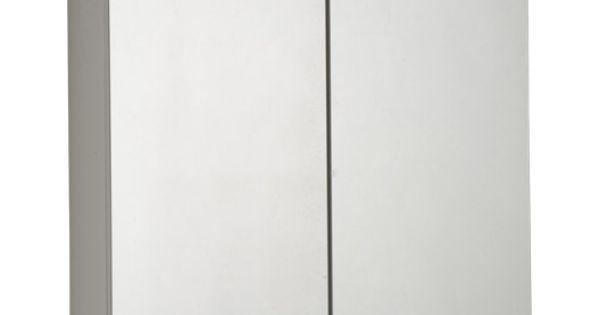 armoire de toilette lumineuse telio sensea 60x75x15 cm salle de bain pinterest ps et armoires. Black Bedroom Furniture Sets. Home Design Ideas