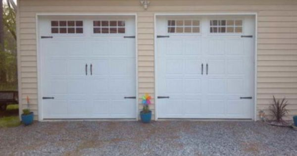 Finding Perfect 2 Car Garage Doors With Creamy Colour Single Garage Door Garage Doors Paris Images
