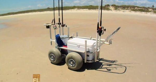 Best Surf Fishing Cart Beachy Pinterest Fishing Cart