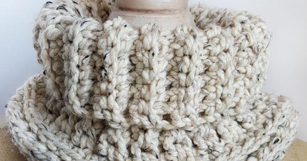 ... Cowl Crochet Pattern in Spanish Espa?ol, Dise?o y Crochet gratis