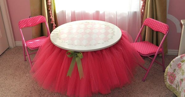 Table tutus, anyone?!