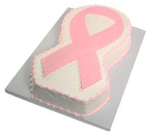 Pin On Cancer Ribbon Cake