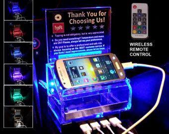 Rideshare Fast Charging Station Remote Control Led Light Tip Box Uber Lyft Sign Lyft Ideas Lyft Car Rideshare